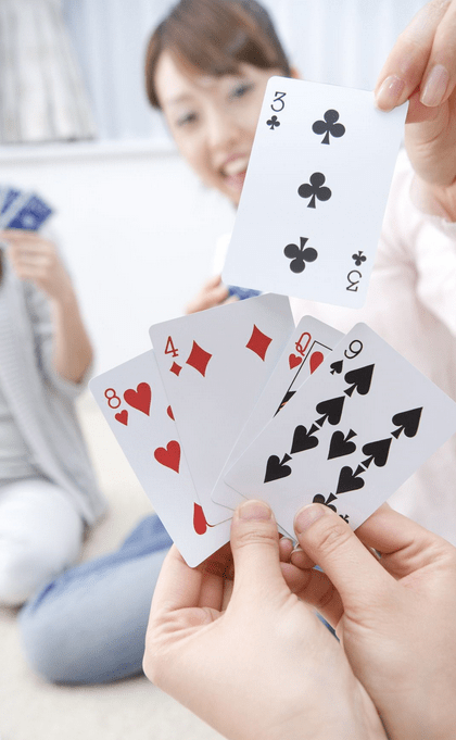 casino card game two players