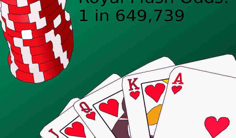 Royal Straight Flush in poker